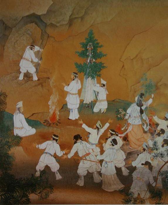 日本画家 高橋天山先生の日本画...